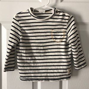 9-12m Zara striped sweater